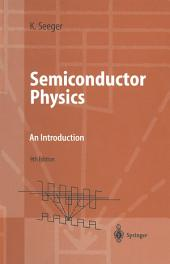 Semiconductor Physics: An Introduction, Edition 9