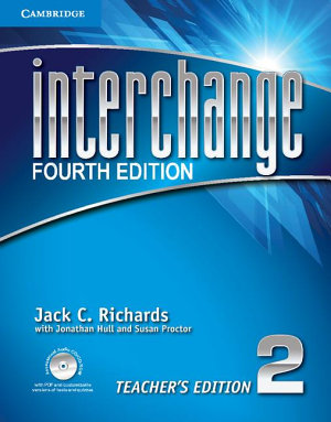 Interchange Level 2 Teacher s Edition with Assessment Audio CD CD ROM PDF