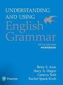Understanding and Using English Grammar  Workbook Book
