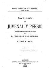 Sátiras de Juvenal y Persio, traducidas en verso castellano