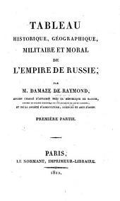 Tableau historique, gégraphique, militaire et moral de l'empire de Russie: Page1
