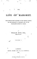 The life of Mahomet PDF