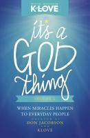It s a God Thing Volume 2 PDF
