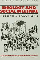 Ideology and Social Welfare PDF