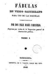 Fábulas en verso castellano para uso de las escuelas