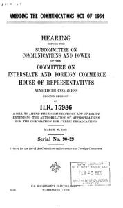 Hearings  Reports and Prints of the House Committee on Interstate and Foreign Commerce PDF