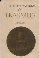 Collected Works of Erasmus PDF