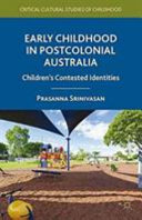 Early Childhood in Postcolonial Australia PDF