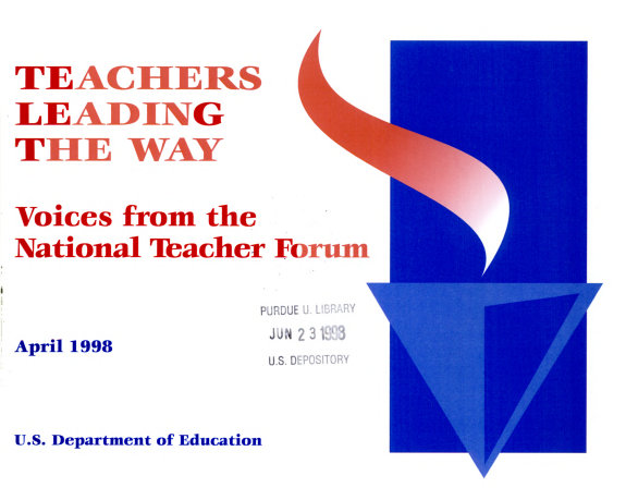 Teachers Leading the Way PDF