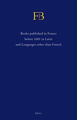 French Books III   IV