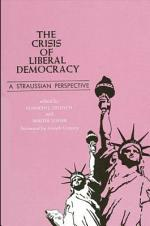 The Crisis of Liberal Democracy