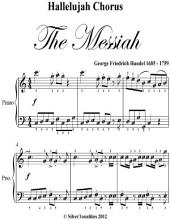 Hallelujah Chorus the Messiah Easy Elementary Piano Sheet Music