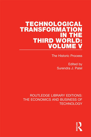 Technological Transformation in the Third World: Volume 5