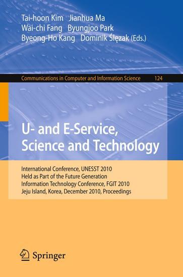 U  and E Service  Science and Technology PDF