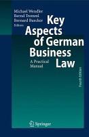 Key Aspects of German Business Law PDF