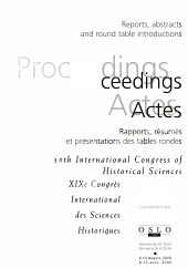 International Congress of Historical Sciences PDF