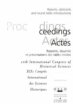 International Congress of Historical Sciences PDF