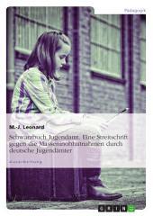 Schwarzbuch Jugendamt. Eine Streitschrift gegen die Masseninobhutnahmen durch deutsche Jugendämter