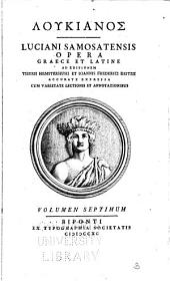 Loukianos (romanized form): Volume 7