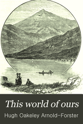 This World of Ours: An Introduction to the Study of Geography