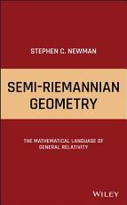 Semi Riemannian Geometry PDF