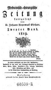 Medicinisch-chirurgische Zeitung, hrsg. von J(ohann) J(acob) Hartenkeil und F(ranz) X(aver) Mezler: Band 118