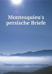 Montesquieu's persische Briefe