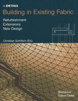 Building in Existing Fabric PDF