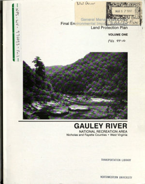 Gauley River National Recreation Area  N R A    Nicholas County and Fayette County