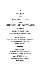 A View of the Constitution of the Church of Scotland