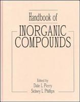 Handbook of Inorganic Compounds PDF