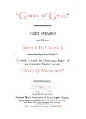 """Gleams of Grace."": Eight Sermons"