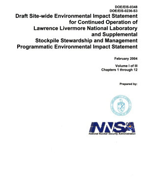 Continued Operation of Lawrence Livermore National Laboratory PDF