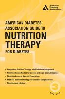 American Diabetes Association Guide to Nutrition Therapy for Diabetes PDF