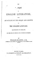 The History of English Literature PDF