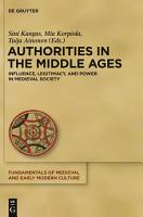 Authorities in the Middle Ages PDF