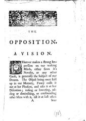 The Opposition. A Vision: Volume 15