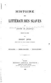 Histoire des littératures slaves: Volume1