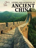 Living and Working in Ancient China PDF