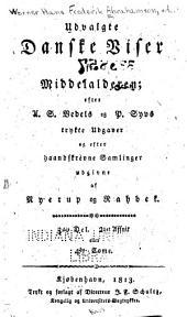 Udvalgte danske viser fra middelalderen: Bind 4