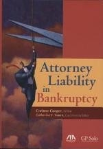 Attorney Liability in Bankruptcy