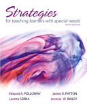 Strategies For Teaching Learners With Special Needs Book PDF