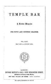 Temple Bar: Volume 44