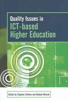 Quality Issues in ICT based Higher Education PDF