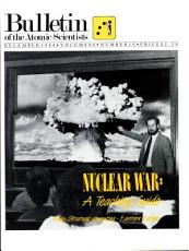 Bulletin of the Atomic Scientists PDF