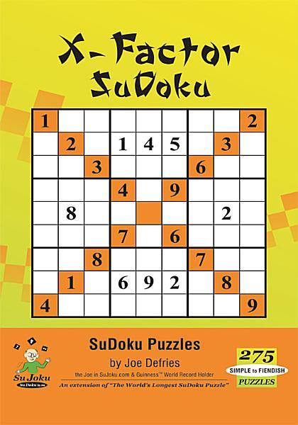 X Factor Sudoku
