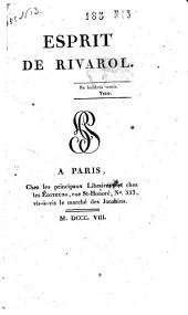 Esprit de Rivarol