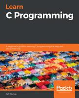 Learn C Programming PDF