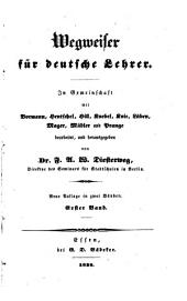 Wegweiser für deutsche Lehrer: Band 1