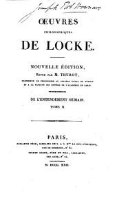 Oeuvres philosophiques de Locke: Volume3